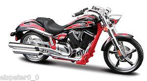Victory-Vegas-Jackpot-Maisto-Moto-Modello-1-18-Nuovo-conf-orig