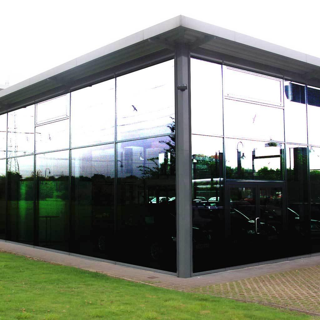 Sonnenschutzfolie Silber 80 EX SR - 1 52m x 1m - für Polycarbonat & Kunststoff
