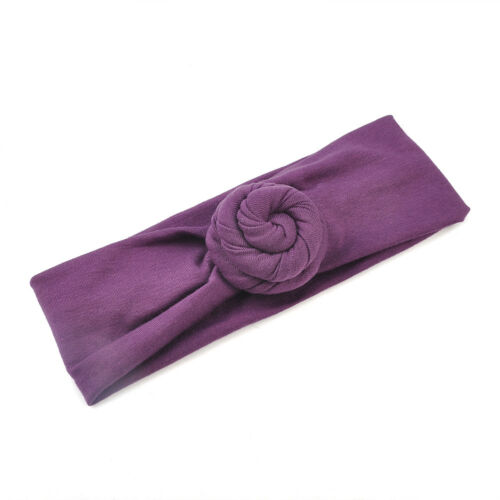 Cute Kids Baby Girls Summer Turban Knot Headband Hair Band Accessories Headwear