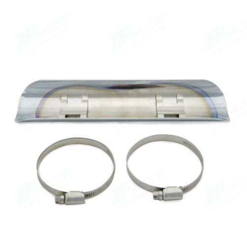 Chrome Exhaust Pipe Heat Shield For Kawasaki Vulcan Suzuki Intruder M109R C50 90
