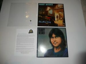 Randy-Meisner-S-T-and-One-More-Song-Lot-2-LP-Analog-1st-USA-ULTRASONIC-Clean