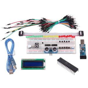 Project-ATMEGA8-Starter-Kit-fur-Arduino-Breadboard-1602-LCD-LED-Jumper-Cable