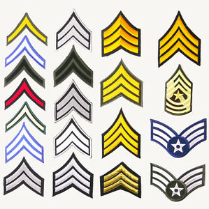 US ARMY RANK PATCH SHOP - Single Patches £1.95- Pair £2.95 + Free Post- UK STOCK ghr2HuXB-09154746-278650034