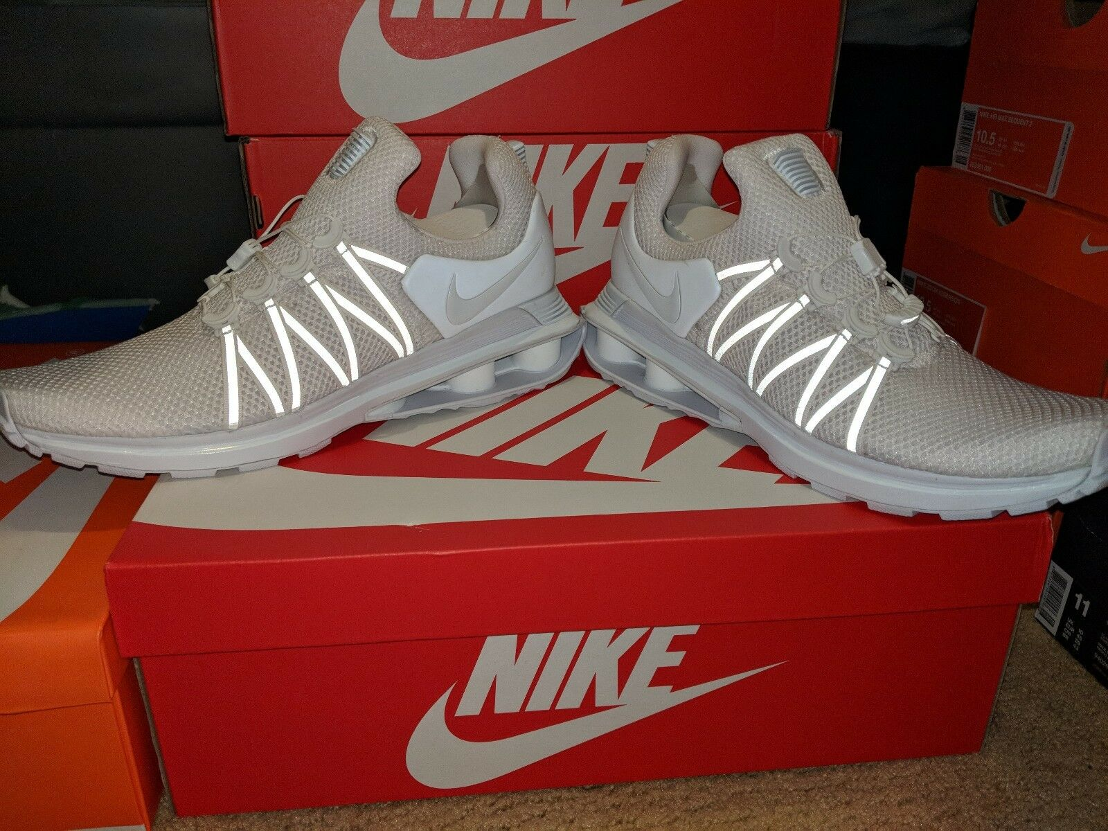 NIKE SHOX GRAVITY MEN'S RUNNING SHOES Price reductionComfortable Comfortable and good-looking