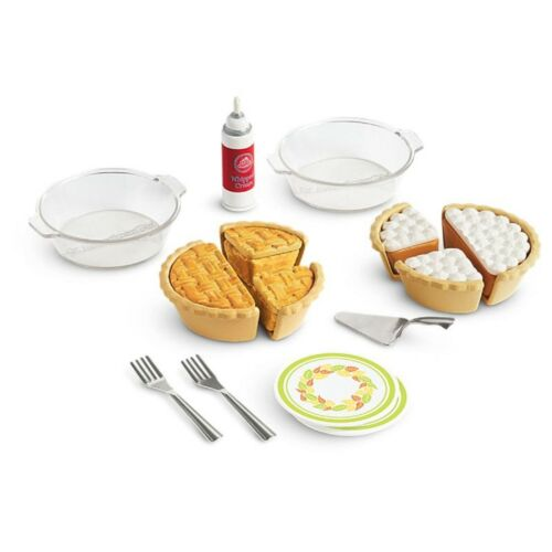 "American Girl TM PIE BAKING SET for 18/"" Dolls Bake Cook Cake Cookie NEW"