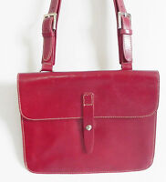 Preston&york Cross Body Bag Dark Red Envelop Style 9.5x8x2.5