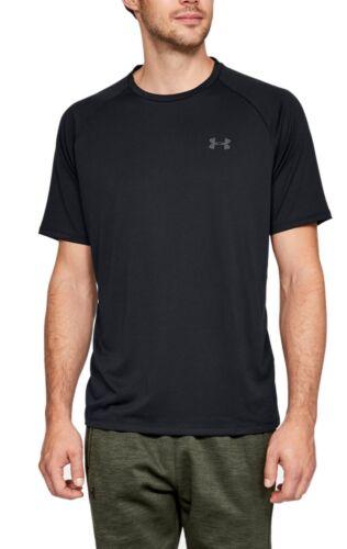 Under Armour Hommes Fitness Entraînement T-shirt UA Tech ™ 2.0 Noir 1326413 001