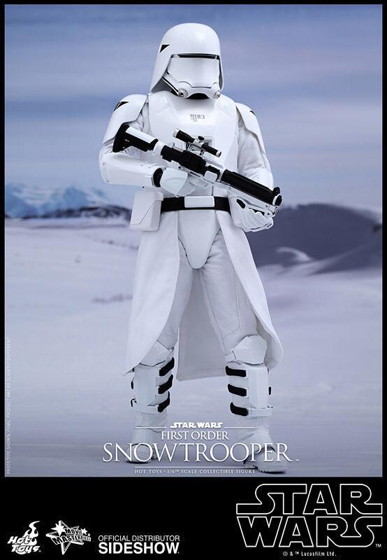 a precios asequibles Estrella Wars Sideshow Hot Juguetes - First Order Snowtrooper Snowtrooper Snowtrooper 1 6 Scale Figura - Neu Ovp  marcas en línea venta barata