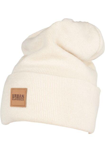 7c7cbcad59e Urban Classics Hat Cap Man Woman Leatherpatch Long Beanie Tb626 Black