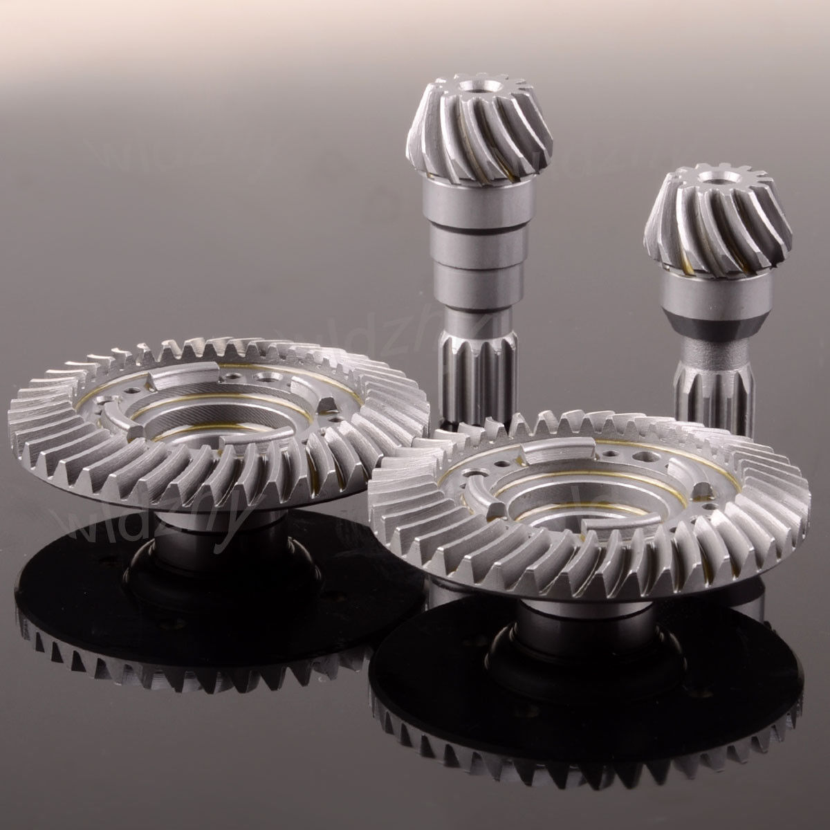 X Front  Rear Rear Rear Hard Steel Differential Ring Pinion Gear Set Traxxas X-Maxx 1 5 RC 424d4b