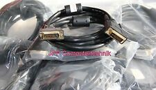 3m DVI auf DVI Stecker Kabel für Beamer Anschlusskabel Digital Ferrit Profi 24k