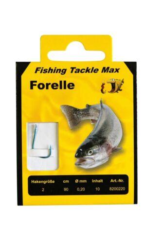 FTM Trout Hooks Born Trout various sizes 90 cm Tippet NEW!!!