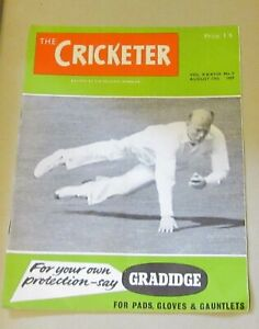 THE-CRICKETER-MAGAZINE-AUGUST-17TH-1957-ALFRED-LYTTELTON-BY-G-D-MARTINEAU