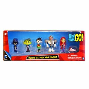 Teen Titans Go Figure Robin Raven Beast Boy Starfire Figurine Model Kids Toys