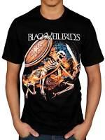 Official Black Veil Brides Skelewarrior T-Shirt Rock Wild Ones Band Skull Merch