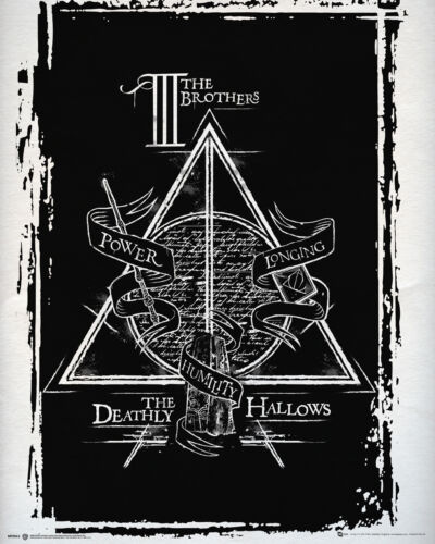 Harry Potter Deathly Hallows Graphic Mini Poster Picture Print 40x50cm
