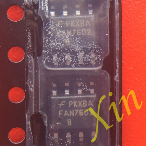 5pcs New Original FAN7602 FAN7602 B 1mA SOP-8 PWM Controller
