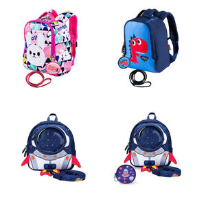 7b386ecc36cf Kids Dinosaur Backpack w/Safety Leash Anti-lost Toddler Children for ...
