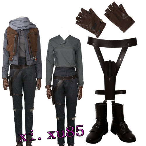 New Orignal Rogue One:A Star Wars Story Jyn Erso Cosplay Costune Customize