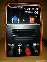 Pilot Arc Plasma Cutter Cut50df Inverter 50amp 110v/220v Dual Voltage Digita