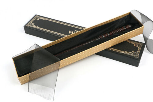 New HARRY POTTER Hermione Dumbledore Cosplay Magical Wand Ribbon Box Collectible