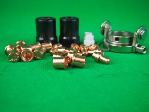 30Pcs LT50 LONG Plasma Cutter Consumables /& Cutting Guide CB50//70 Plasma