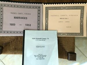 Tazewell-County-Virginia-Marriage-Books-1800-1866-and-1820-Census-Record