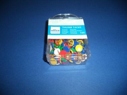 ++ 150 Stück Reißzwecken verschiedene Farben NEU /& OVP ++