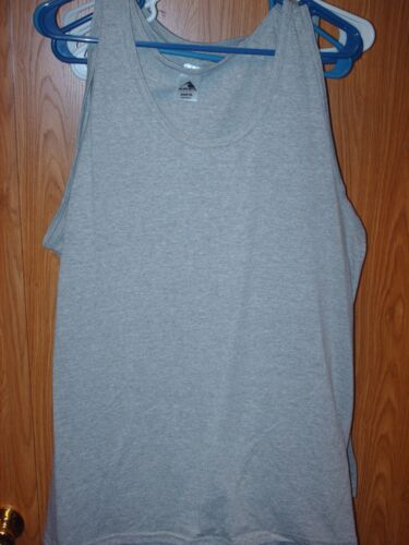 Augusta sportswear gray tank top t-shirt Large and Xlarge XL New Blank