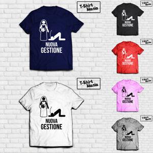 T-Shirt-Nuova-Gestione-Glamour-Influencer-Bianca-Fake-Maglia-Maglietta-T-Shirt