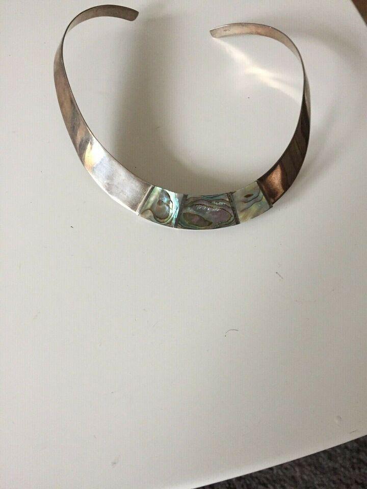Halsring, sølv