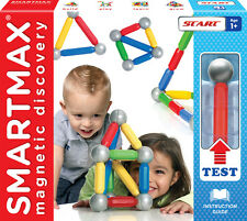 SmartMax Magnetic Discovery Start Kit- 15 Bars & 8 Balls - Suitable for Age 1+