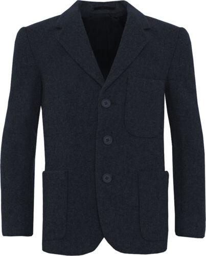 School Uniform Flanelle Garçons Zip entrée Blazer