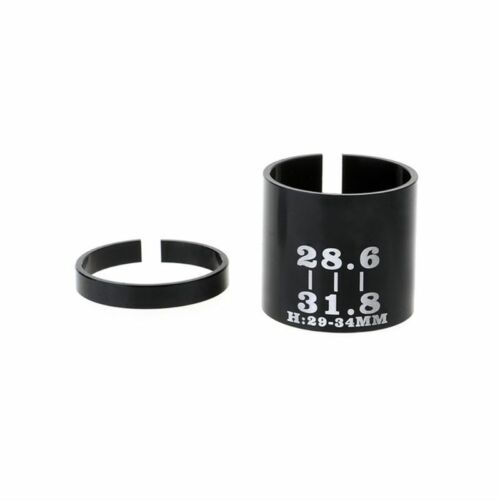 Bicycle Bike Ahead Stem Shim Reducer Conversion Variable Ring Set 31.8 to 28.6mm