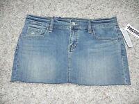 Bullhead Jean Skirt Size 7 Denim Mini $29.50