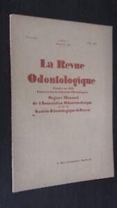 La Revista Dental Fundada En 1879 N º 4 Abril 1949 Buen Estado