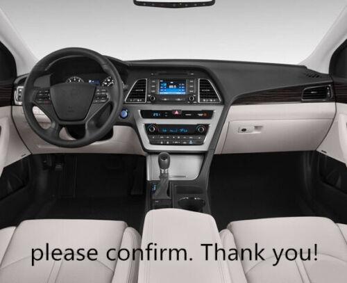 For Hyundai Sonata 2015 2016 2017 Inner Dashboard Dash Mat DashMat Sun Cover Pad