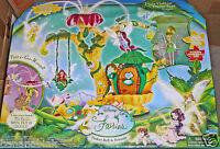 Set Disney Fairies Pixie Hollow Home Tree Playset Tinker Bell Playmates