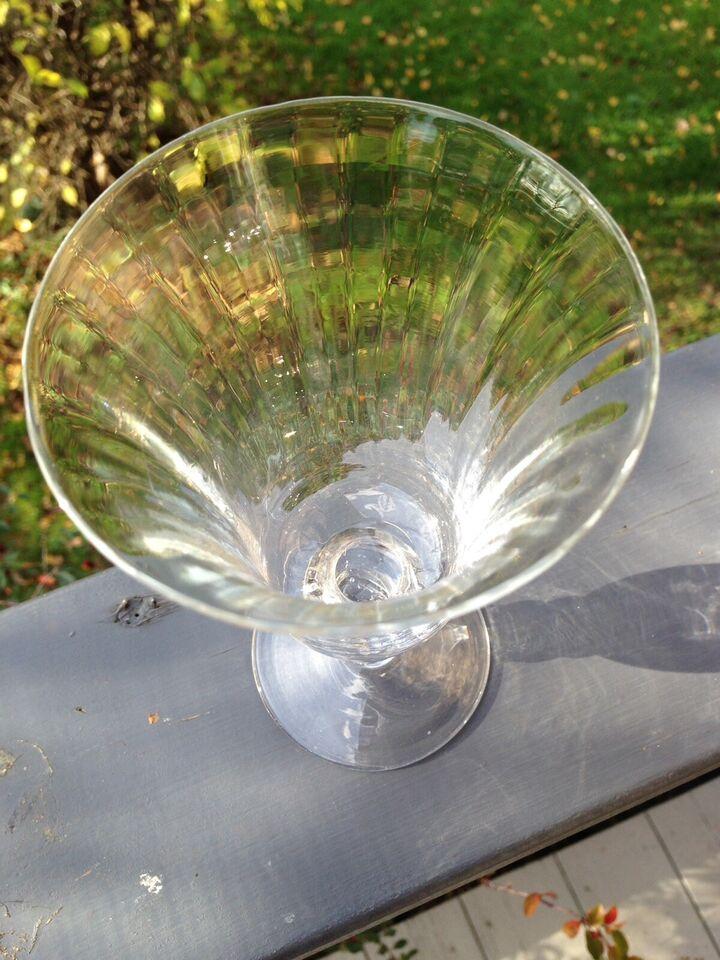 Enestående smukt antik vinglas, Start 1900-tallet