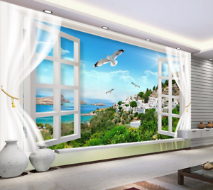 3D Halmet Bird 5027 Wallpaper Murals Wall Print Wallpaper Mural AJ WALL UK Kyra