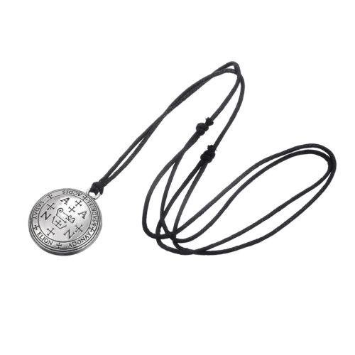 Ancien Talisman de Archange Zadkiel la clé de Salomon Pendentif talisman Collier