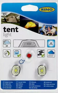 RING 2 LED tent lights RTL010 - NEW - FREE SHIPPING - UK SELLER