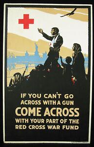Charles-Waldo-Love-1881-1967-c1916-come-Across-Rosso-Cross-WW1-USA-New-York