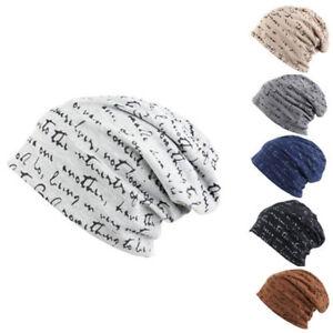 7d655ac69 Details about Men Women Jersey Beanie Hat Lightweight Thin Slouch Cap  Summer Festival Unisex
