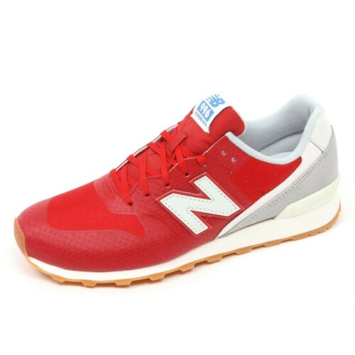 C5078 sneaker donna NEW BALANCE 996 scarpa rosso shoe woman