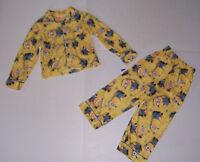 Dispicable Me Minion Boy's 2 Piece Pajamas Pjs Set Size 4/5