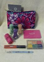 Ulta Brand Makeup Cosmetics Lot - All With Makeup Bag