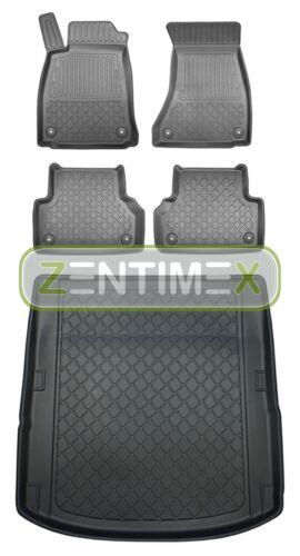Z330048 Set Tappetino Vasca In Gomma Tappetini per AUDI a4 SPORT b9 8w2 Limousine ST