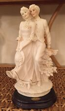Giuseppe Armani Florence Together Figurine Wooden Base 1992 Free Priority Ship!