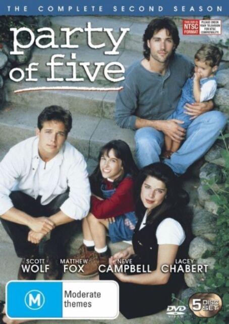 Party Of Five : Season 2 (DVD, 2007, 6-Disc Set) LIKE NEW REGION4 DVD FREE POST